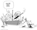 Cartoonist Ann Telnaes  Ann Telnaes' Editorial Cartoons 2004-01-24 litigation