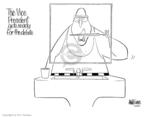 Cartoonist Ann Telnaes  Ann Telnaes' Editorial Cartoons 2004-10-04 2008 debate