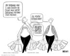 Cartoonist Ann Telnaes  Ann Telnaes' Editorial Cartoons 2004-11-23 debt