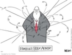 Cartoonist Ann Telnaes  Ann Telnaes' Editorial Cartoons 2004-12-17 body armor