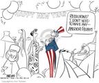 Cartoonist Ann Telnaes  Ann Telnaes' Editorial Cartoons 2004-12-30 criticism