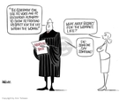 Cartoonist Ann Telnaes  Ann Telnaes' Editorial Cartoons 2007-04-21 court decision