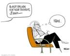 Cartoonist Ann Telnaes  Ann Telnaes' Editorial Cartoons 2007-10-11 veep