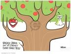 Cartoonist Ann Telnaes  Ann Telnaes' Editorial Cartoons 2007-10-17 Dick