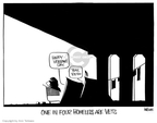 Cartoonist Ann Telnaes  Ann Telnaes' Editorial Cartoons 2007-11-11 military