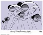 Cartoonist Ann Telnaes  Ann Telnaes' Editorial Cartoons 2007-11-19 veep