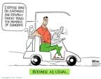 Ann Telnaes  Ann Telnaes' Editorial Cartoons 2006-02-07 travel ban