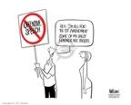 Cartoonist Ann Telnaes  Ann Telnaes' Editorial Cartoons 2006-02-23 liberty