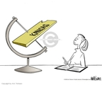 Cartoonist Ann Telnaes  Ann Telnaes' Editorial Cartoons 2005-11-12 science