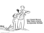 Cartoonist Ann Telnaes  Ann Telnaes' Editorial Cartoons 2005-09-16 disaster