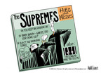 Cartoonist Ann Telnaes  Ann Telnaes' Editorial Cartoons 2005-06-28 court decision