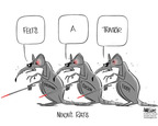 Cartoonist Ann Telnaes  Ann Telnaes' Editorial Cartoons 2005-06-03 rat