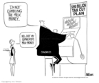 Cartoonist Ann Telnaes  Ann Telnaes' Editorial Cartoons 2003-05-11 government debt