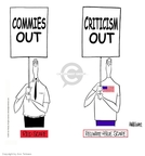 Ann Telnaes  Ann Telnaes' Editorial Cartoons 2001-09-29 communism