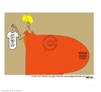 Cartoonist Ann Telnaes  Ann Telnaes' Editorial Cartoons 2001-02-06 case