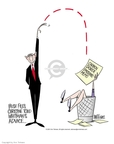 Cartoonist Ann Telnaes  Ann Telnaes' Editorial Cartoons 2001-03-27 science