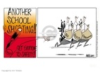Cartoonist Ann Telnaes  Ann Telnaes' Editorial Cartoons 2001-03-06 gun