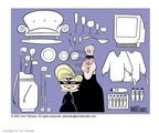 Cartoonist Ann Telnaes  Ann Telnaes' Editorial Cartoons 2001-01-26 mask