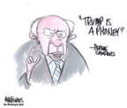Cartoonist Ann Telnaes  Ann Telnaes' Editorial Cartoons 2019-06-27 election