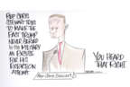 Cartoonist Ann Telnaes  Ann Telnaes' Editorial Cartoons 2019-11-19 republican politician