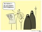 Cartoonist Ann Telnaes  Ann Telnaes' Women's  eNews Cartoons 2007-11-21 she