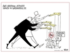 Cartoonist Ann Telnaes  Ann Telnaes' Women's  eNews Cartoons 2008-01-22 women's health