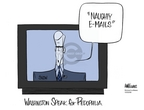 Cartoonist Ann Telnaes  Ann Telnaes' Women's  eNews Cartoons 2006-10-03 Congress