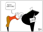 Cartoonist Ann Telnaes  Ann Telnaes' Women's  eNews Cartoons 2006-03-11 women's health