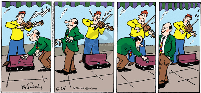 Comic Strip Mike Twohy  That's Life 2003-05-25 playing