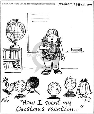 Comic Strip Mike Twohy  That's Life 2003-01-06 little child