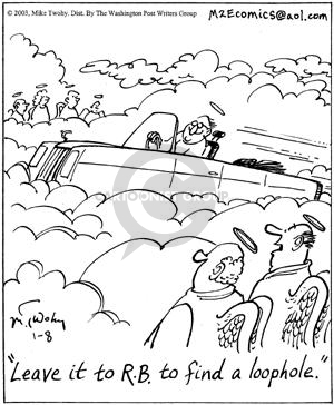 Cartoonist Mike Twohy  That's Life 2003-01-08 life