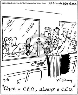 Comic Strip Mike Twohy  That's Life 2003-03-06 behavior