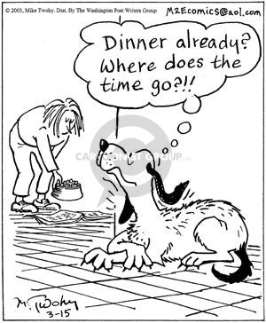 Comic Strip Mike Twohy  That's Life 2003-03-15 lazy dog