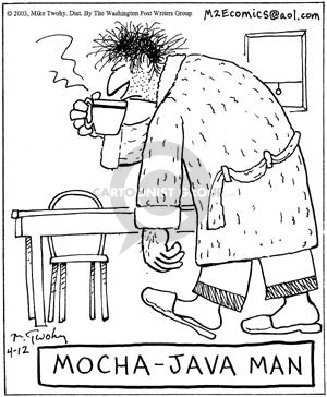 Mocha-Java Man.