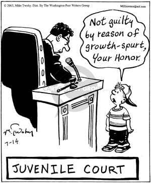 Comic Strip Mike Twohy  That's Life 2003-07-14 little child