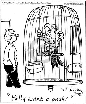 Comic Strip Mike Twohy  That's Life 2003-07-18 bird