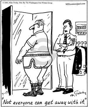 Comic Strip Mike Twohy  That's Life 2003-07-19 shopper