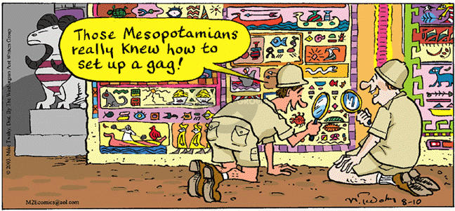 Comic Strip Mike Twohy  That's Life 2003-08-10 translate