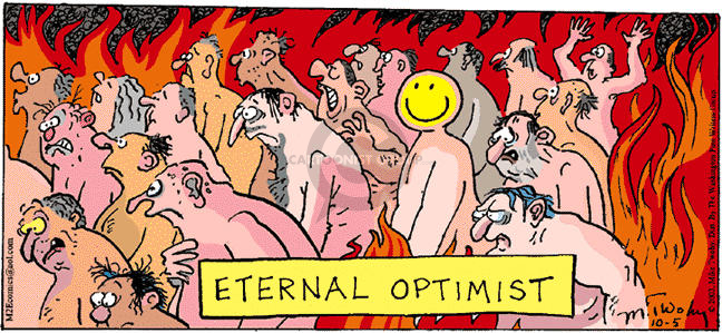 Cartoonist Mike Twohy  That's Life 2003-10-05 eternal life