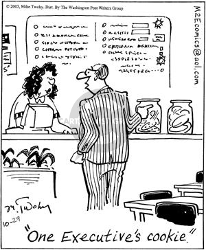 Cartoonist Mike Twohy  That's Life 2003-10-29 cookie
