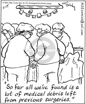 Cartoonist Mike Twohy  That's Life 2003-11-15 patient