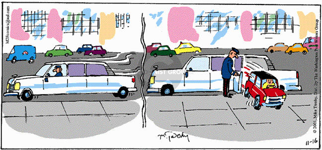Comic Strip Mike Twohy  That's Life 2003-11-16 out door