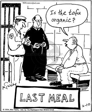 Comic Strip Mike Twohy  That's Life 2004-02-10 death penalty