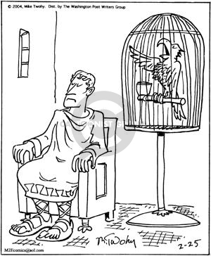Cartoonist Mike Twohy  That's Life 2004-02-25 Ancient Rome