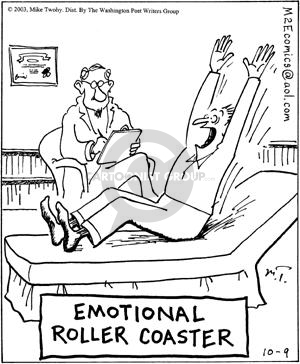 Comic Strip Mike Twohy  That's Life 2003-10-09 psychiatrist