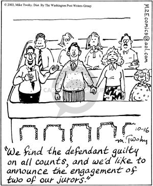 Cartoonist Mike Twohy  That's Life 2003-10-16 defendant