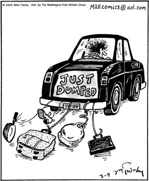 Comic Strip Mike Twohy  That's Life 2004-03-09 vehicle