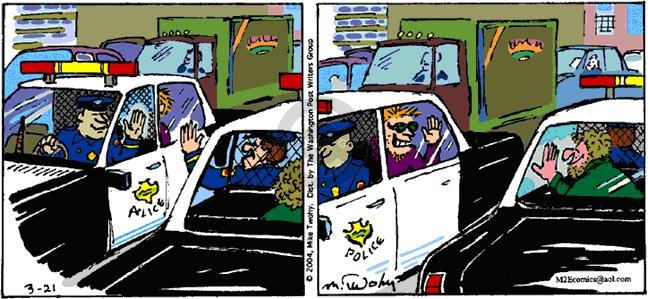 Comic Strip Mike Twohy  That's Life 2004-03-21 car
