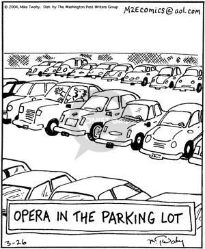 Comic Strip Mike Twohy  That's Life 2004-03-26 parking lot