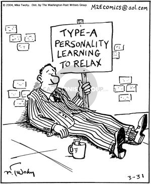 Comic Strip Mike Twohy  That's Life 2004-03-31 relaxation